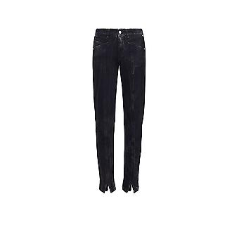 Givenchy women's BW504N5049001 black cotton of jeans