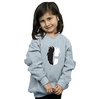 Disney Mädchen Alphabet C ist für Cruella De Vil Sweatshirt