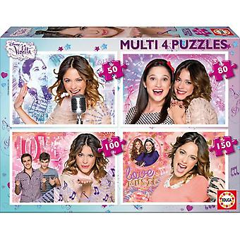 Educa Puzzle Violetta Multi (Babies and Children , Toys , Boardgames)