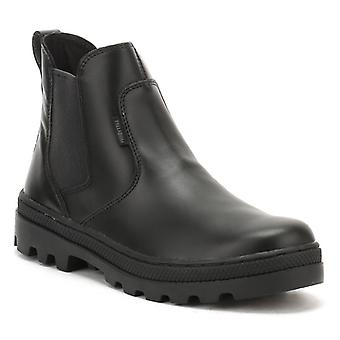 Palladium Womens Black Pallabosse Chelsea Boots