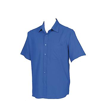 Henbury Mens Wicking Anti-Bacterial Short Sleeve Shirt