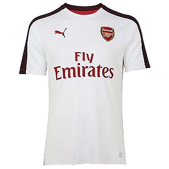 2018-2019 Arsenal Puma Stadium Jersey (White) - Kids