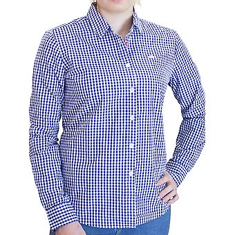 Ladies Gingham Shirt