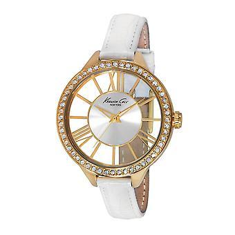Kenneth Cole New York vrouwen pols horloge analoge lederen 10014882 / KC2865