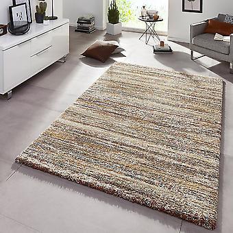 Design tapijt diepe stapel voor stapel van graniet Brown-mix