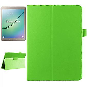 Green cover case for Samsung Galaxy tab S2 9.7 SM T810 T815N