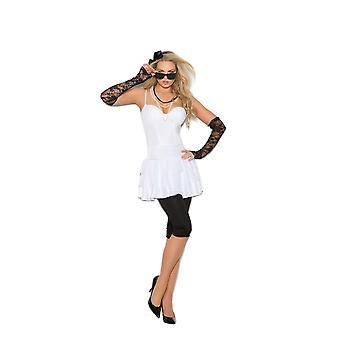 Elegant Moments Womens Rock Star Diva Madonna Halloween Roleplay Costume