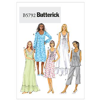 Misses' Top, Gown and Pants-ZZ (LRG-XLG-XXL) -*SEWING PATTERN*