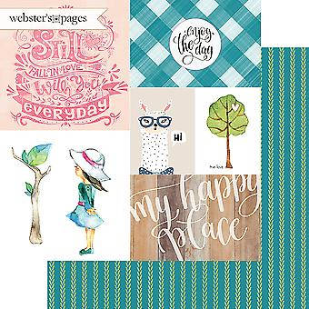 My Happy Place Double-Sided Cardstock 12