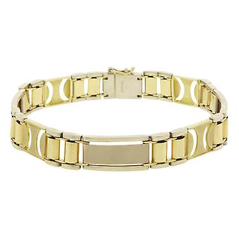 Christian Golden bicolor armband