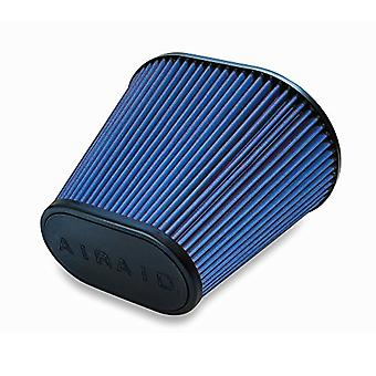 Airaid 723-476 Universal Clamp-On Air Filter: Oval Tapered; 6 in (152 mm) Flange ID; 9 in (229 mm) Height; 10.75 in x 7.