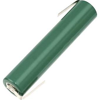 FDK HR5/4AAAU-LF Non-standard battery (rechargeable) 5/4 AAA Z solder tab NiMH 1.2 V 830 mAh