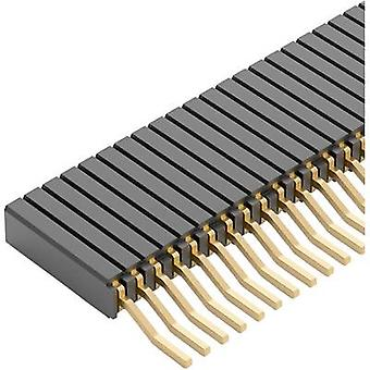 Fischer Elektronik Receptacles (standard) No. of rows: 1 Pins per row: 20 BLM 3 SMD/ 20/G 1 pc(s)