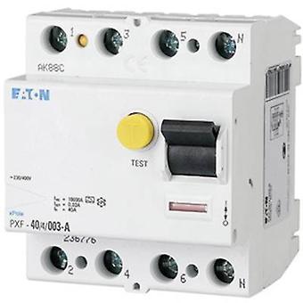 Eaton 236776 RCCB 4-pin 40 A 0.03 A 400 V
