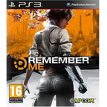 Remember Me PS3 Game