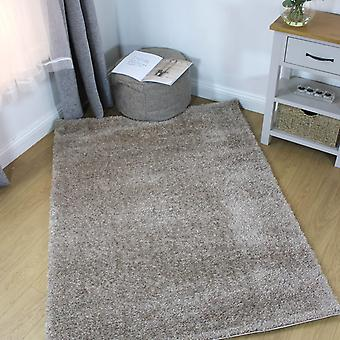Velvet Shaggy Rugs In Natural