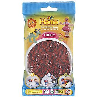 Hama Beads 1000 Bead Pack Burgundy