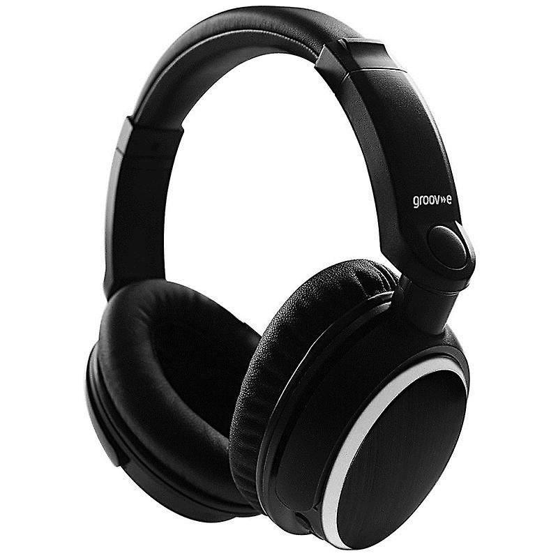 Groov-e GVBT700BK Ultra Wireless Bluetooth Stereo Headphone with Powerful Sound