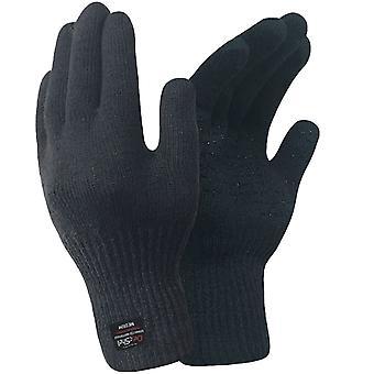 DexShell 難燃難燃性メンズ防水通気性のあるカット耐性手袋 - ブラック