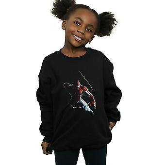 Marvel Girls Spider-Man Painting Sweatshirt