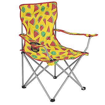 Folding Camping Festival Chair Funky Watermelon Portable Seat With Carry Bag