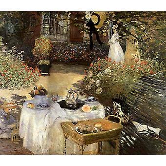 Almuerzo, Claude Monet, 60x50cm