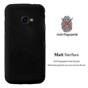 Cadorabo sleeve for Samsung Galaxy XCover 4 - case of TPU silicone mats frosted design - silicone case cover ultra slim soft back cover case bumper
