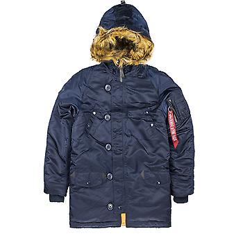 Alpha Industries Kinder Winterjacke N3-B VF Kunstfell