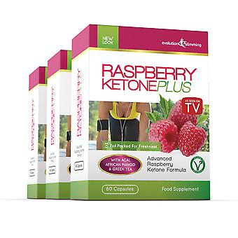 Raspberry Ketone Plus - 3 Month Supply - Fat Burner - Evolution Slimming