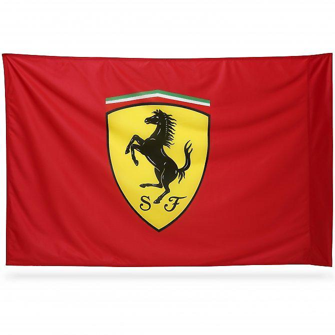 Waooh - Flag Ferrari