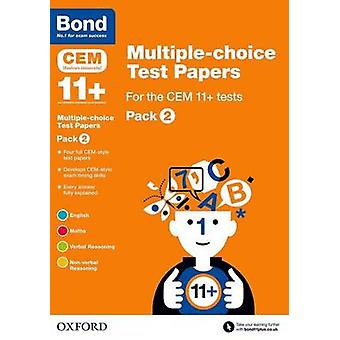 Bond 11 + - Multiple-Choice-Test Papiere für CEM 11 + Tests - Pack 2 b