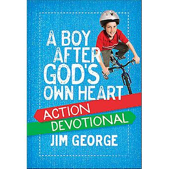 A Boy After God's Own Heart Action Devotional by Jim George - 9780736