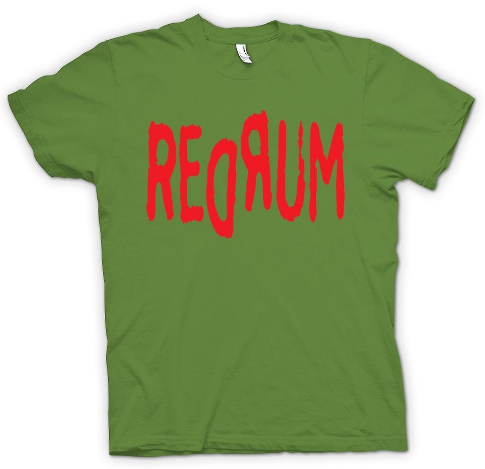 Mens T-shirt - rum - lustig