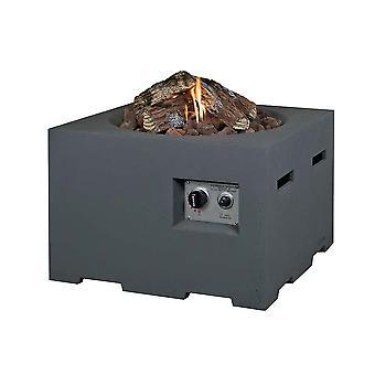 Happy Cocooning udendørs pejs firkantede 60x60xH40 cm-antracit