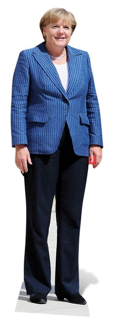Angela Merkel Lifesize kartong cutout / Standee