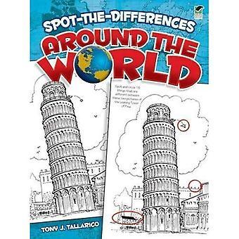 Spot-The-Unterschiede auf der ganzen Welt