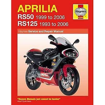 Aprilia RS50 en 125 Service en reparatie handleiding: 1993 tot en met 2006 (Haynes Service en reparatie handleidingen)