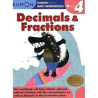Decimals & Fractions, Grade 4 (Kumon Math Workbooks)