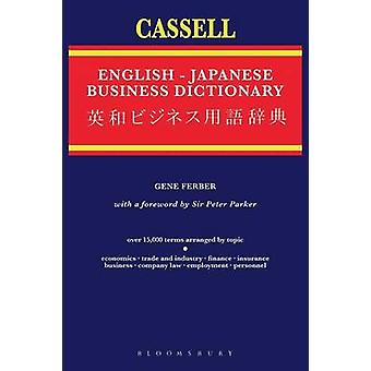 Cassell EnglishJapanese Business Dictionary by Ferber & Gene