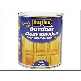 Rustins Exterior Varnish Satin 1 Litre