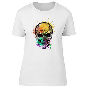 Skull Paint Droplets Tee Men's -Image by Shutterstock