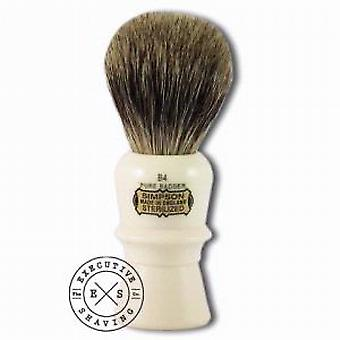 Simpsons B4 Beaufort Pure Badger Hair Shaving Brush in Imitation Ivory