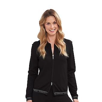 Feraud 3195276-10995 Women's Voyage Black Jacket