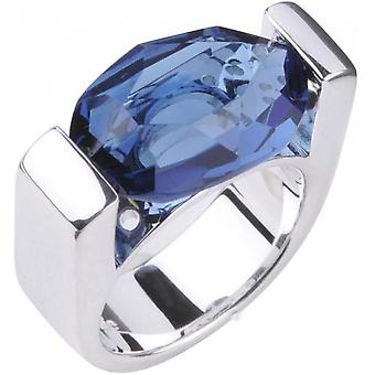 Clio Blue BA0551B ring - ring timeless silver blue woman