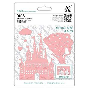 Xcut Dies Princess & Castle (6pcs) (XCU 503342)