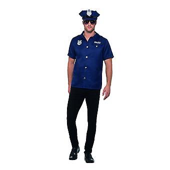 Politieagent ons politie COP kostuum mannen carnaval carnaval