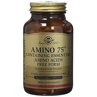 Solgar Amino 75 Vegetable Capsules, 30