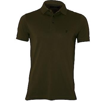 French Connection Classic Polo Shirt, Dusty Olive