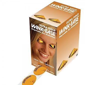 Winkease Wink-Ease Ultra Gold Protection pour les yeux jetables - Pack of 300 Paires