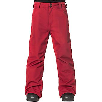 Horsefeathers Red Pinball Kids Snowboarding Pants